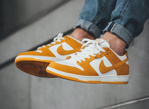 Chaussure Nike Dunk Low Pro SB Curry Circuit Orange (1)