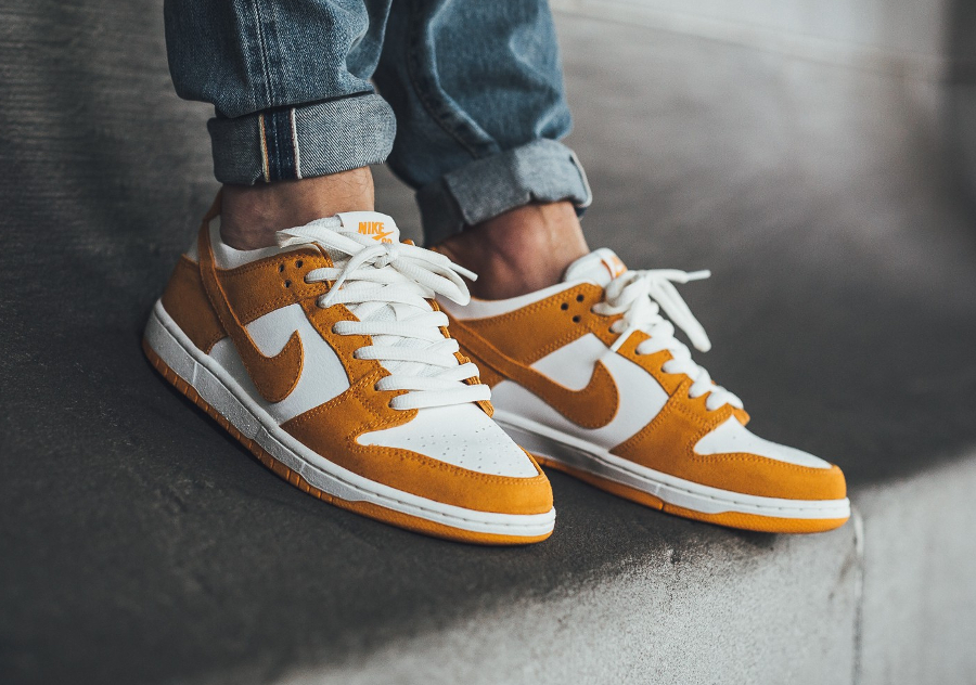 Chaussure Nike Dunk Low Pro SB Curry Circuit Orange (2)