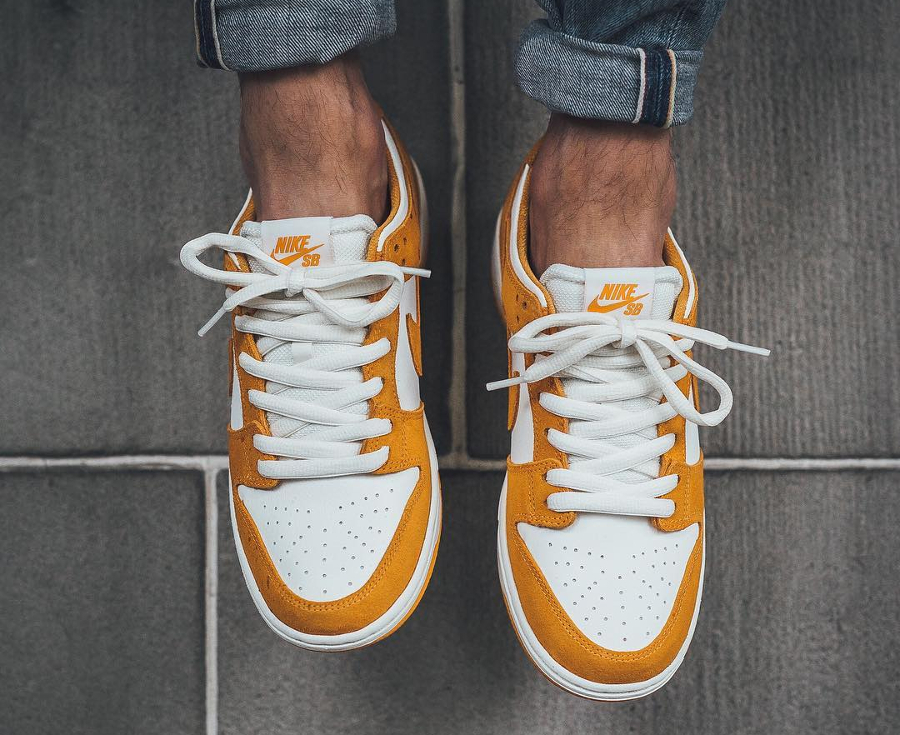 Chaussure Nike Dunk Low Pro SB Curry Circuit Orange (3)