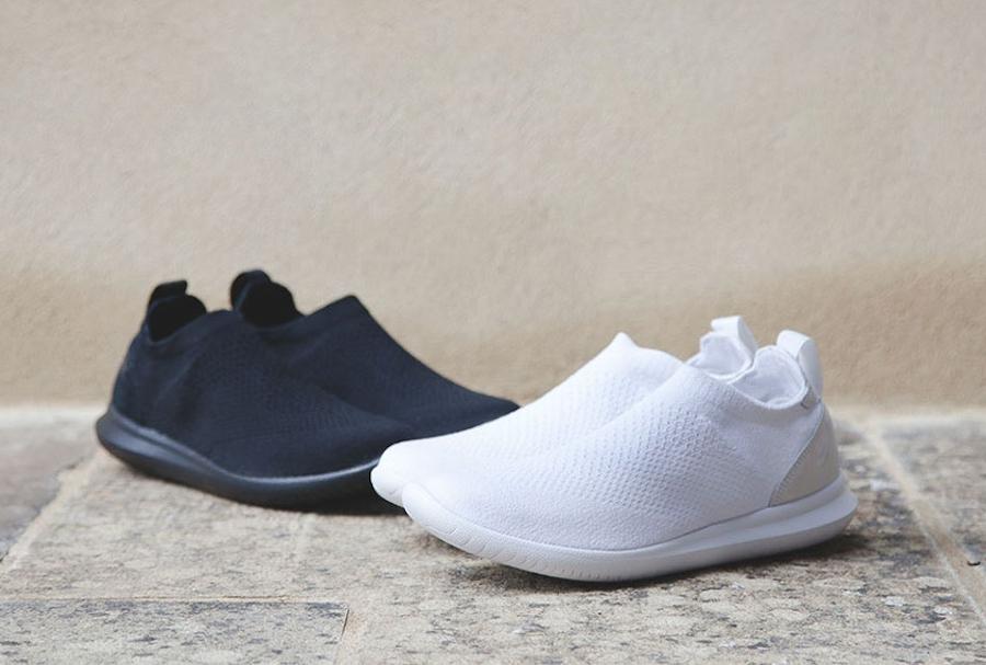 Chaussure NikeLab Gakou Flyknit DIY Blanche Noire