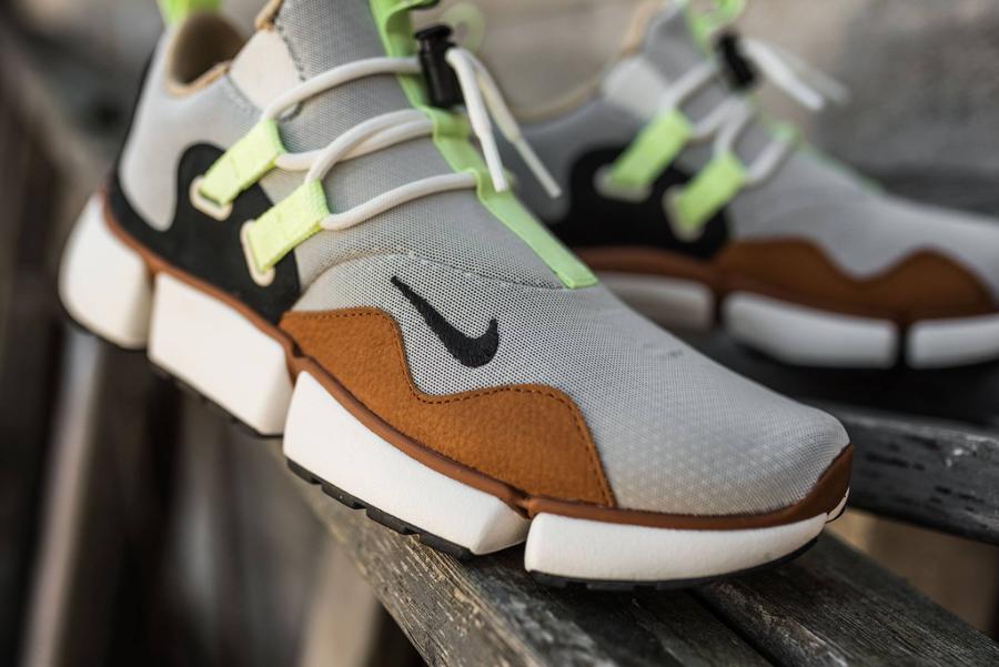 Chaussure NikeLab Pocketknife DM Barely Volt Mushroom (3)