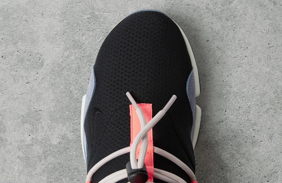 Chaussure NikeLab Pocketknife DM Black Hot Punch (3)