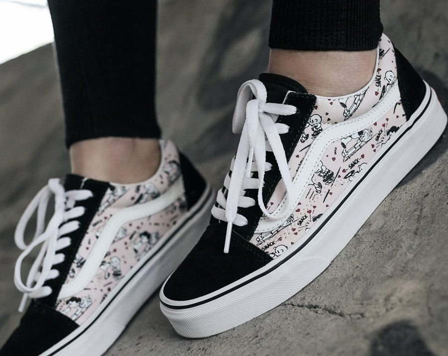 peanuts x vans old skool 39 smack 39 lucy van pelt femme. Black Bedroom Furniture Sets. Home Design Ideas