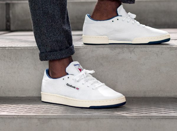 Reebok Club C 85 Ultraknit ' White Collegiate Navy'