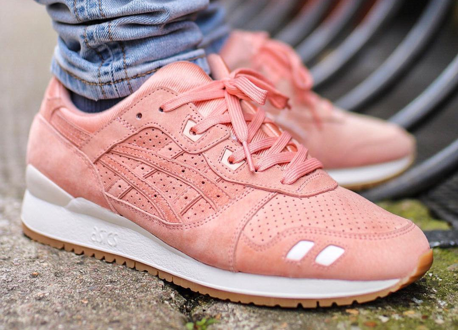 Chaussure Ronnie Fieg x Asics Gel Lyte 3.1GL3 Salmon Legends Day (2)