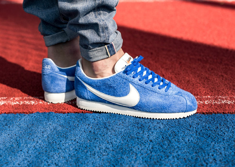 Chaussure Nike Cortez Suede QS Kenny Moore Broken Foot