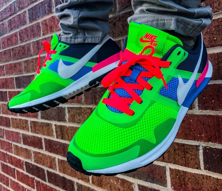 Nike Air Pegasus 83 30 Blue Hero Flash Lime - @checkmarcc
