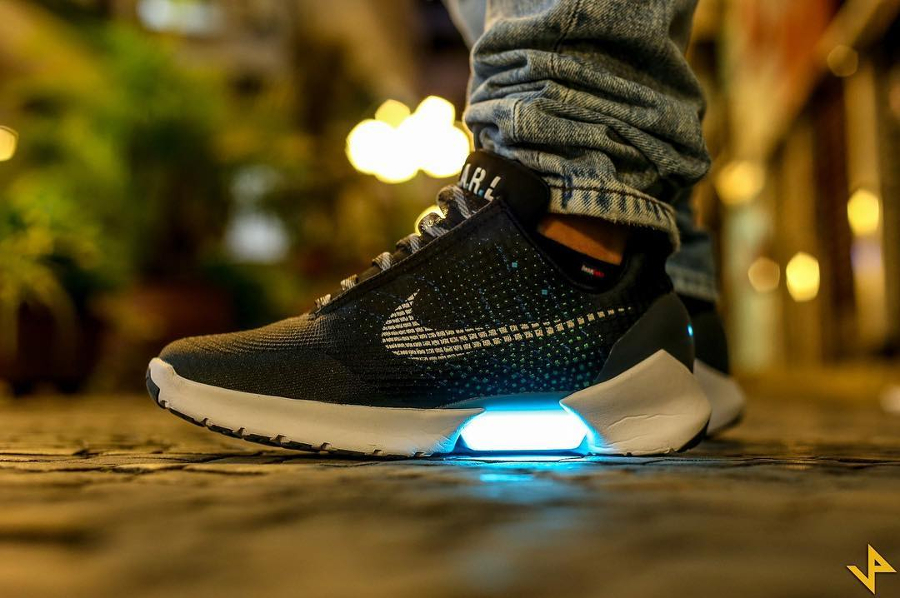 Nike Hyperadapt 1.0 Black Blue Lagoon - @fellypetb