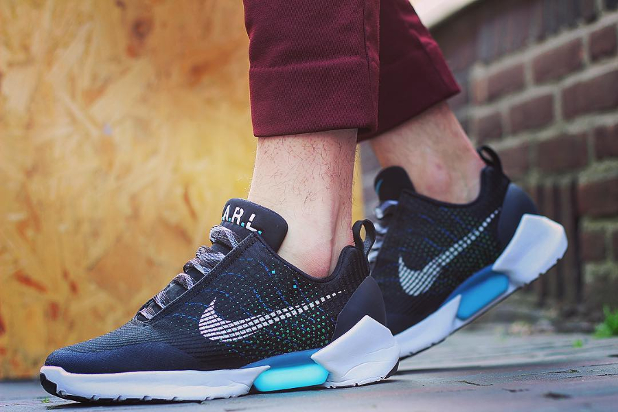 Nike Hyperadapt 1.0 Black Blue Lagoon - @michaelhubner