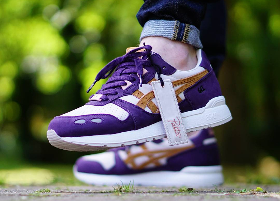 Patta x Asics Gel Lyte Dark Purple - @apollo91000