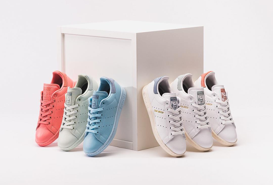 Pharrell Williams x Adidas Originals Stan Smith 'Pastel'