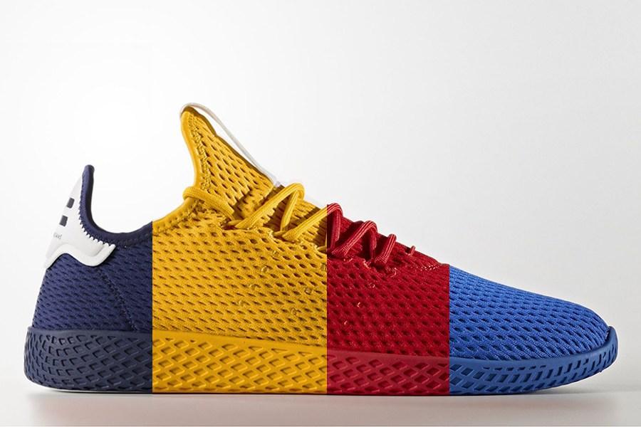 Pharrell Williams x Adidas Tennis Hu Solids