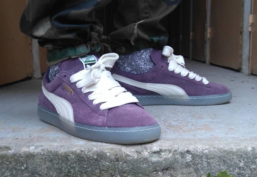 Puma Suede Mono Iced Purple - @1staval