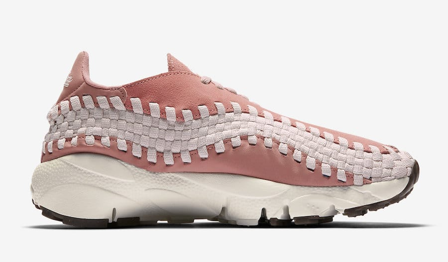 Air Footscape tissée rose saumon 917698-600 (3)