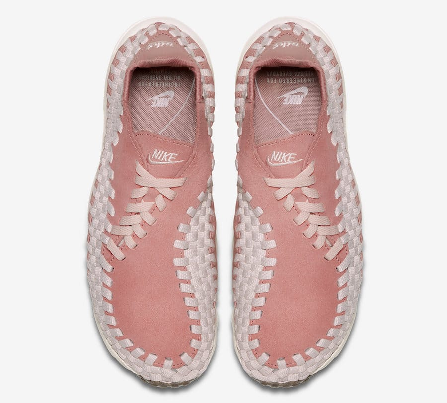 Air Footscape tissée rose saumon 917698-600 (4)