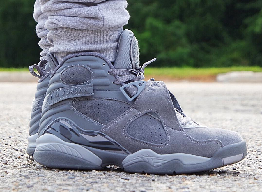 La Air Jordan 8 Retro 'Cool Grey' honore une AJ11 collector de...