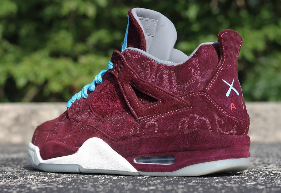 basket-air-jordan-iv-kaws-cherrywood (2)