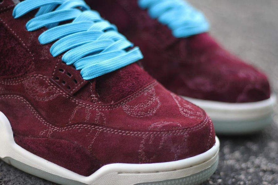 basket-air-jordan-iv-kaws-cherrywood (3)