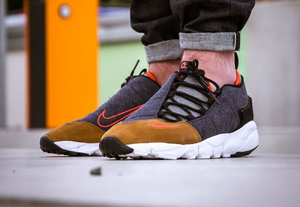Nike Air Footscape NM Denim Obsidian Team Orange