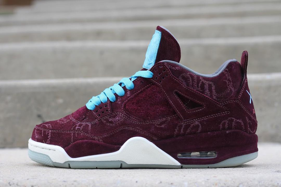 Patta x Parra x Air Jordan 4 Kaws Cherrywood
