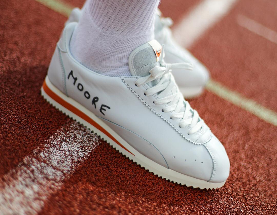 Chaussure Nike Cortez QS Kenny Moore Track Spike Swooshless