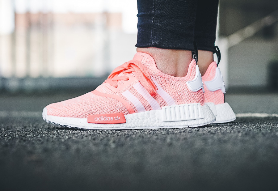 soldes-Adidas-Originals-NMD-R1-femme-Rose-Pink-Glow-pas-cher