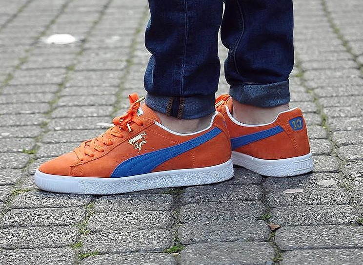 soldes-Puma-Clyde-Frazier-NYC-10-Orange-Blue-Suede-pas-cher