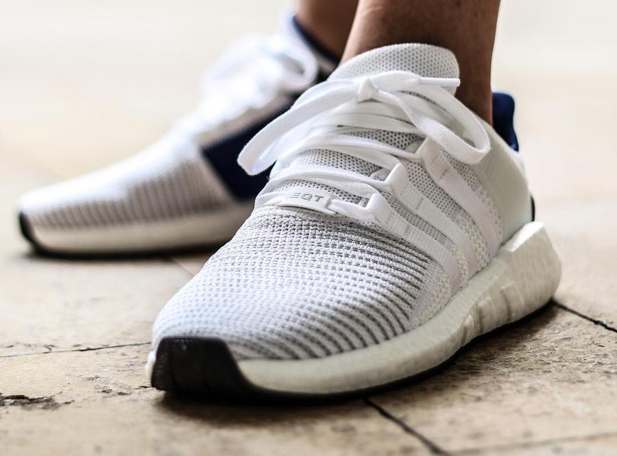 Adidas EQT Support 93 17 White Blue - @cedric_castex