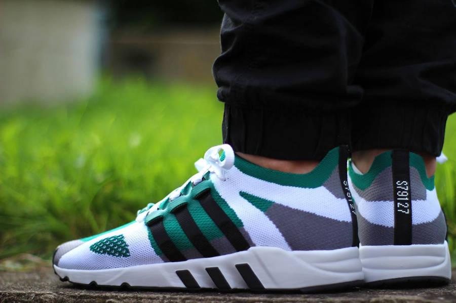 Adidas EQT Support 93 Primeknit Sub Green - @sandalenmitsocken