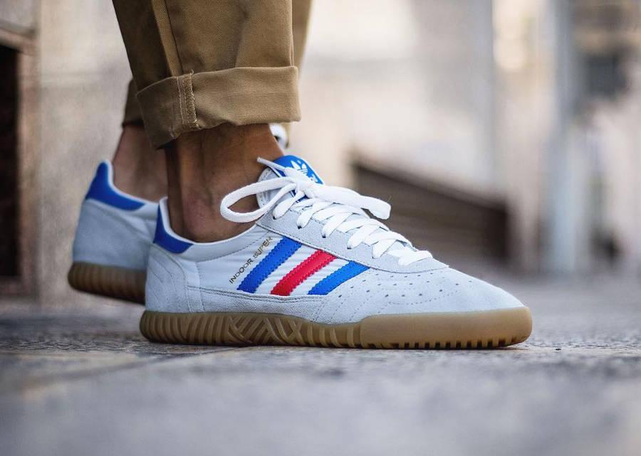 Adidas Indoor Super Clear Onix - Sneaker 76