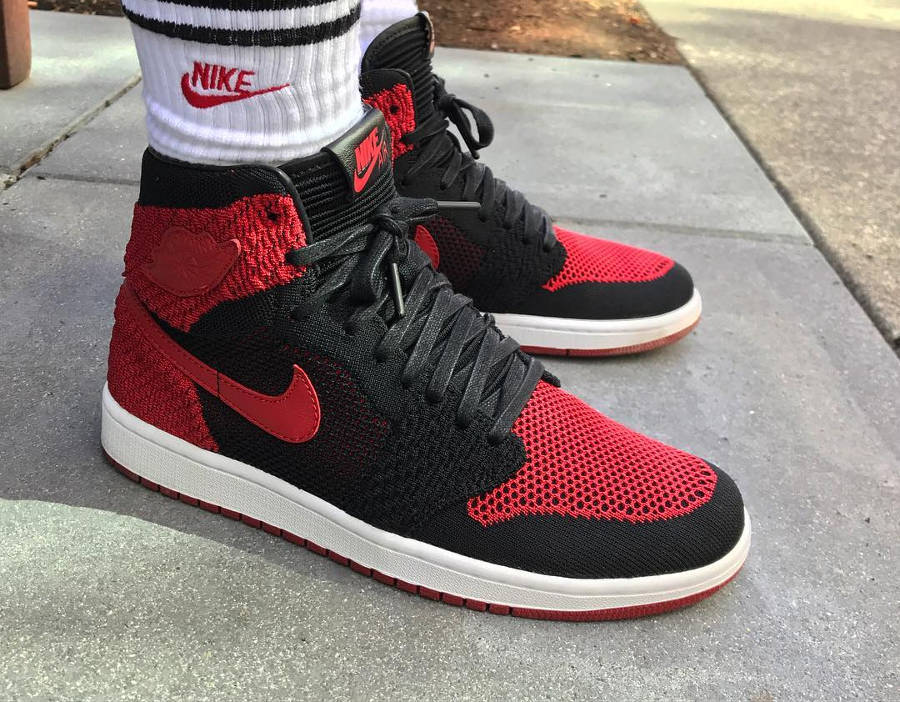 Air Jordan 1 Flyknit Banned - @regularolty