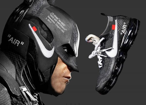 Batman x Nike Air Vapormax Of White couv