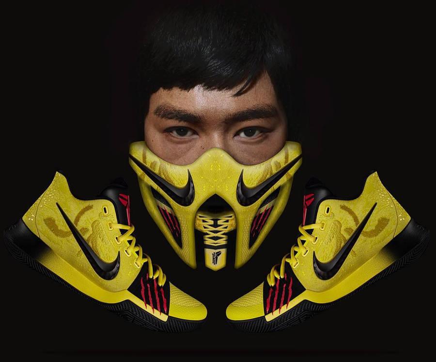Bruce Lee x Nike Air Kyrie 3 Mamba Mentality