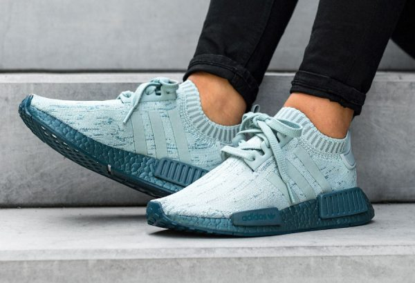 Chaussure Adidas NMD R1 PK Sea Crystal Tactile Green femme