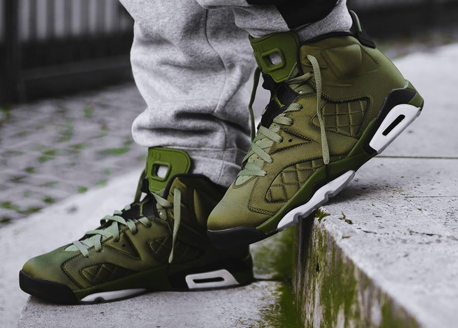 Air Jordan 6 Pinnacle 'Promo Jacket' Palm Green