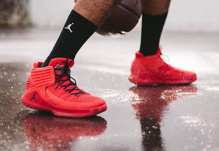 Air Jordan XXXII 'Rosso Corsa'