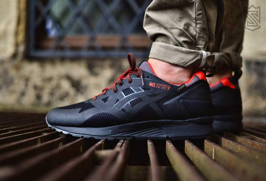 Asics Gel Lyte 5 NS Gore Tex 'Black Red'