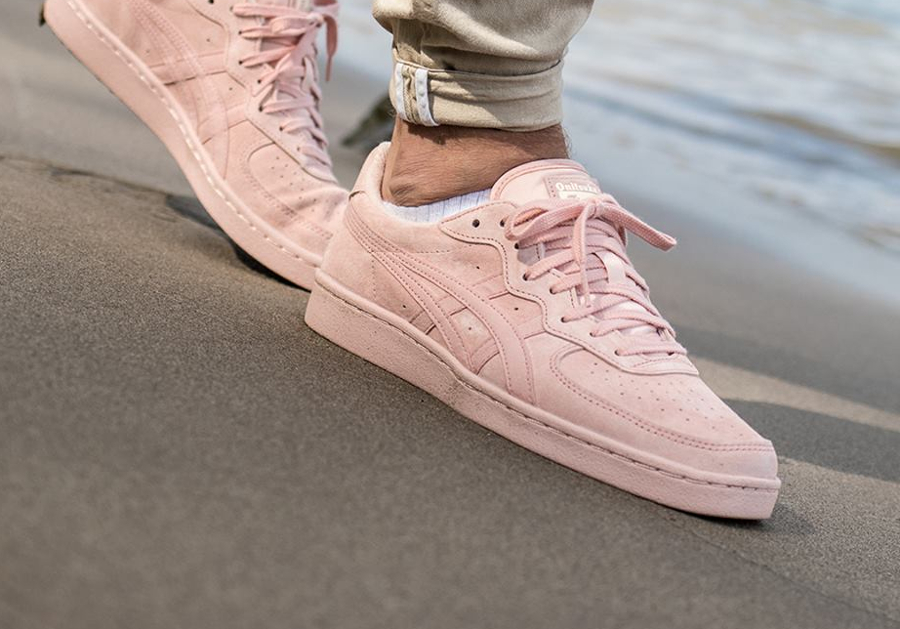 Chaussure Asics Onitsuka Tiger GSM Suede Rose Evening Sand