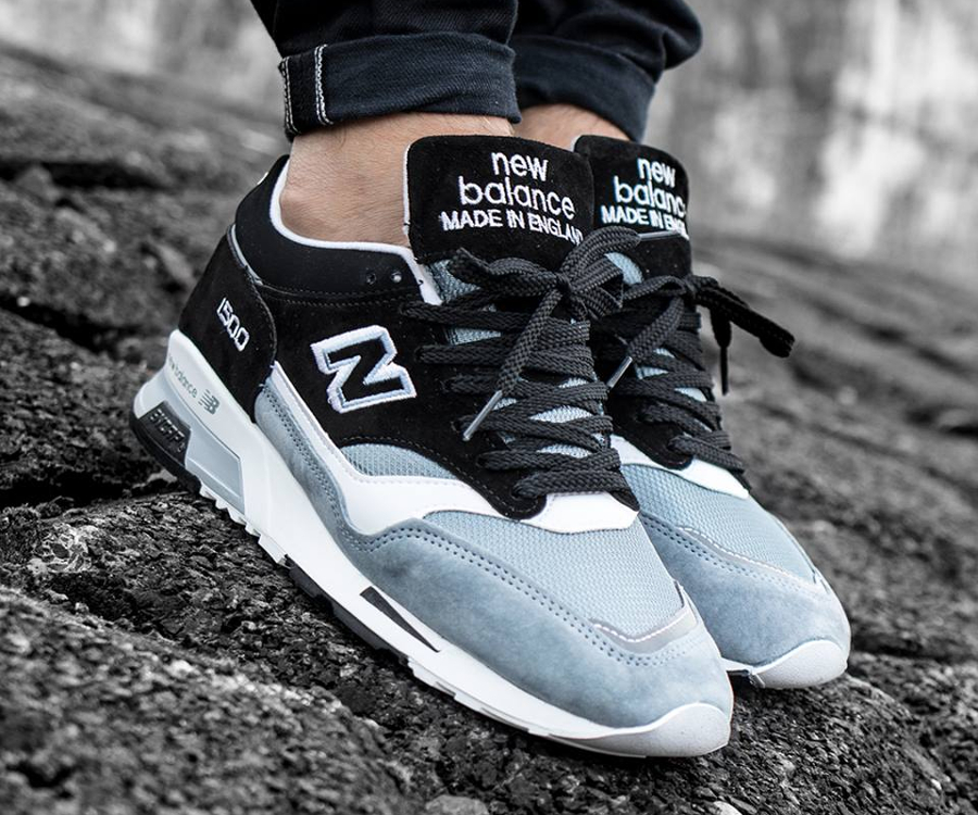 Chaussure New Balance M1500PSK Black Blue (made in England)