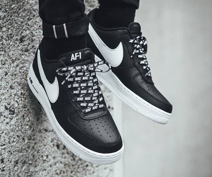 Chaussure Nike Air Force 1 07 LV8 Black AF1 Low NBA Love for the 1