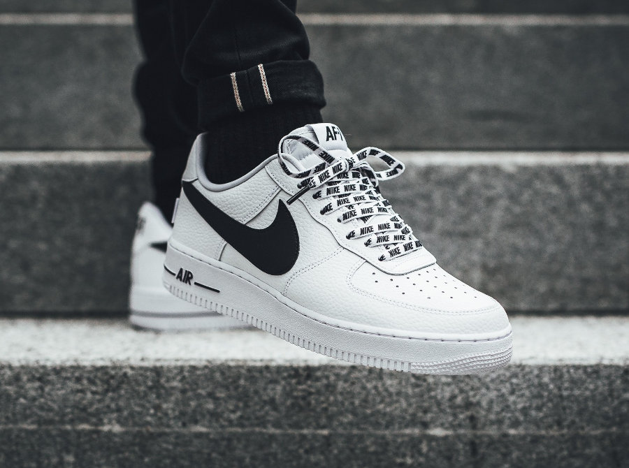 Chaussure Nike Air Force 1 07 LV8 White AF1 Low NBA Love for the 1