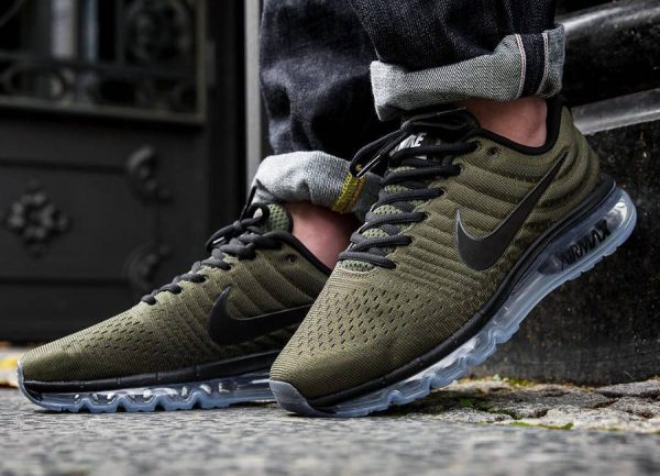 best loved 77992 6b8c7 Chaussure Nike Air Max 2017 Vert Olive Cargo Khaki