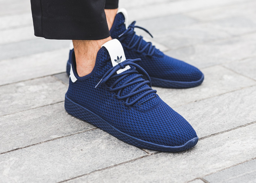 Pharrell Williams x Adidas PW Tennis Hu 'Solid' Monochrome