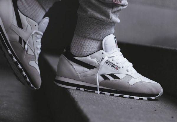 Chaussure Reebok Classic CL Leather TRC Blanche homme