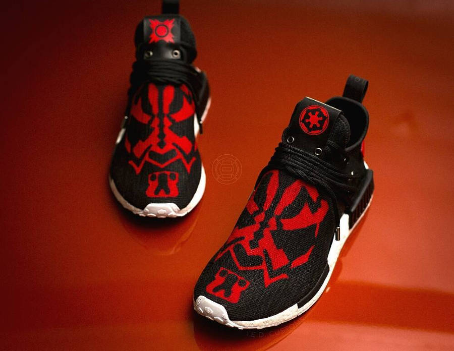Chaussure Star Wars x Adidas NMD XR1 Dark Maul