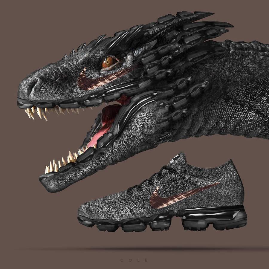 Dragon (Game of Throne) x Nike Air Vapormax Explorer