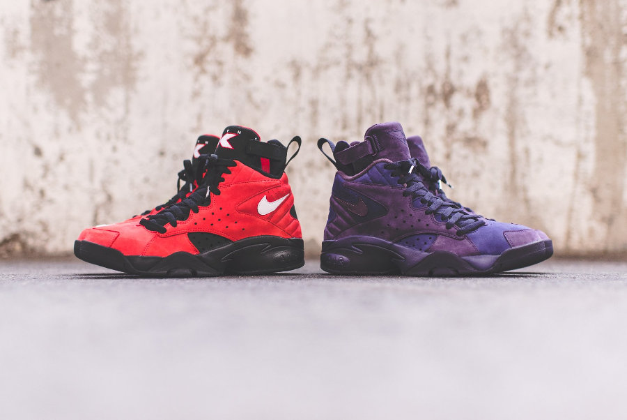 Ronnie Fieg x Nike Maestro 2 High 'Take Flight' Red & Purple