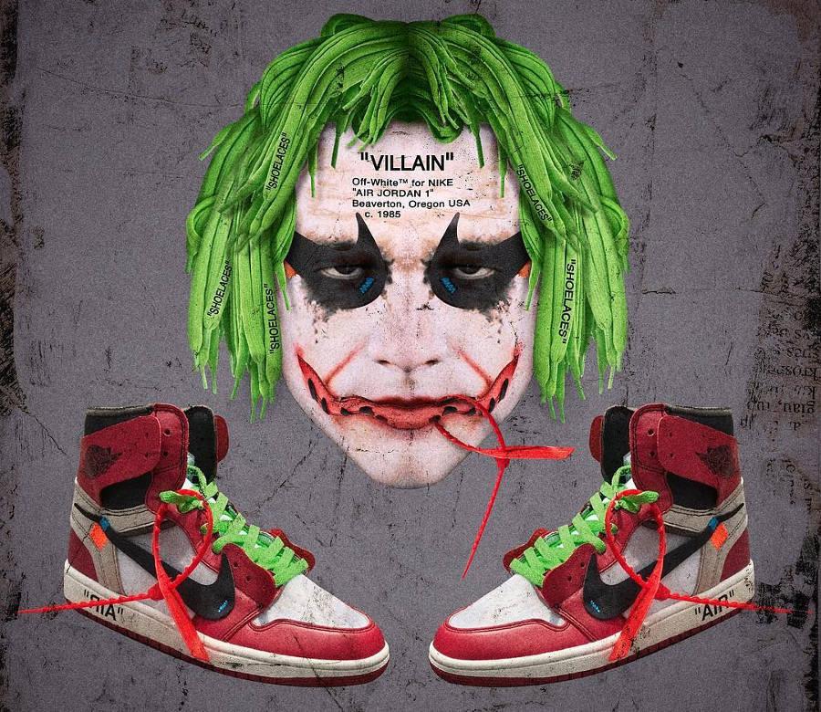 Le Joker x Air Jordan High Off White
