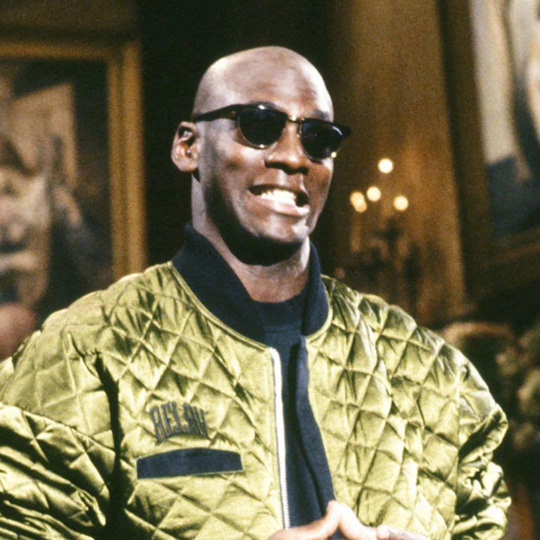 Michael Jordan Olive quilted bomber jacket