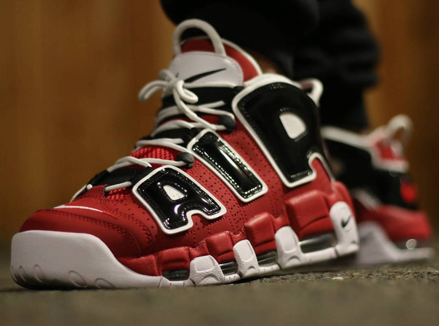 Nike Air More Uptempo Chicago Bulls - @u_mero_408